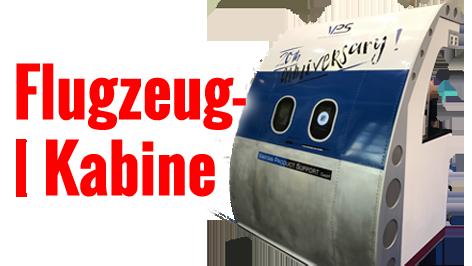 Fotobox geschlossen mieten Flugzeugkabine