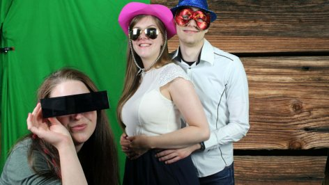 Fotobox Greenscreen mieten