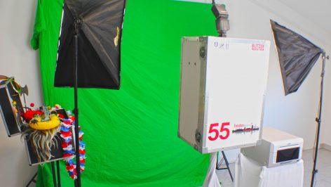 Fotobox in Hamburg mit Greeenscreen mieten