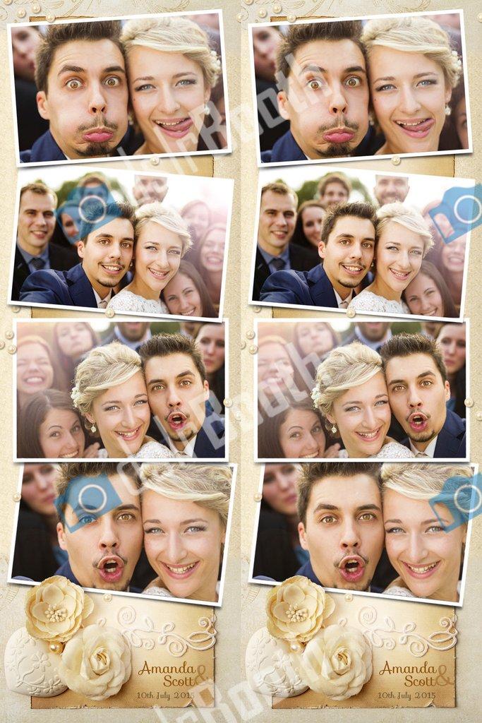 Fotobox Fotostreifen Hochzeit