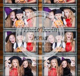 Fotobox Fotostreifen im Halloween Look