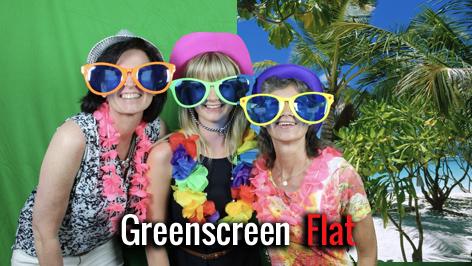 Greenscreen Fotobox Flatrate mieten