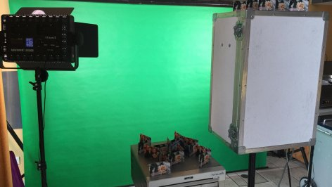 Greenscreen Fotobox mieten