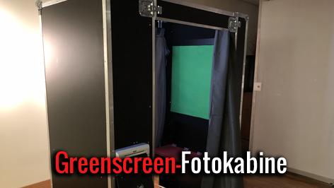 Greenscreen Fotokabine mieten