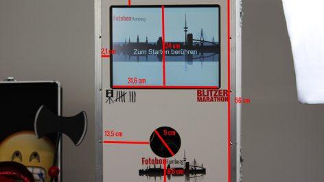 Fotobox Hamburg mieten Maße Fotobox