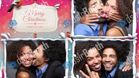 Fotobox Weihnachtsfeier mieten