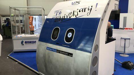 geschlossene Fotobox - Fotokabine Flugzeug